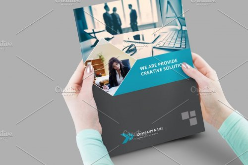 CreativeMarket - Business Brochure V838 3173730