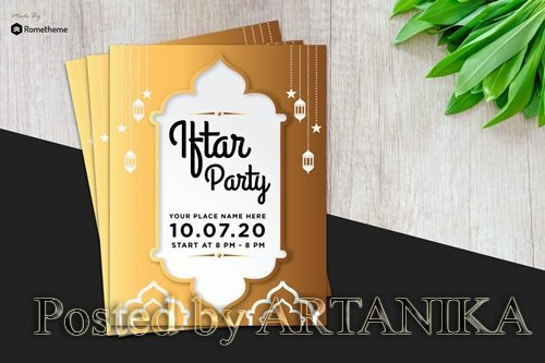 Iftar Party Flyer vol. 02