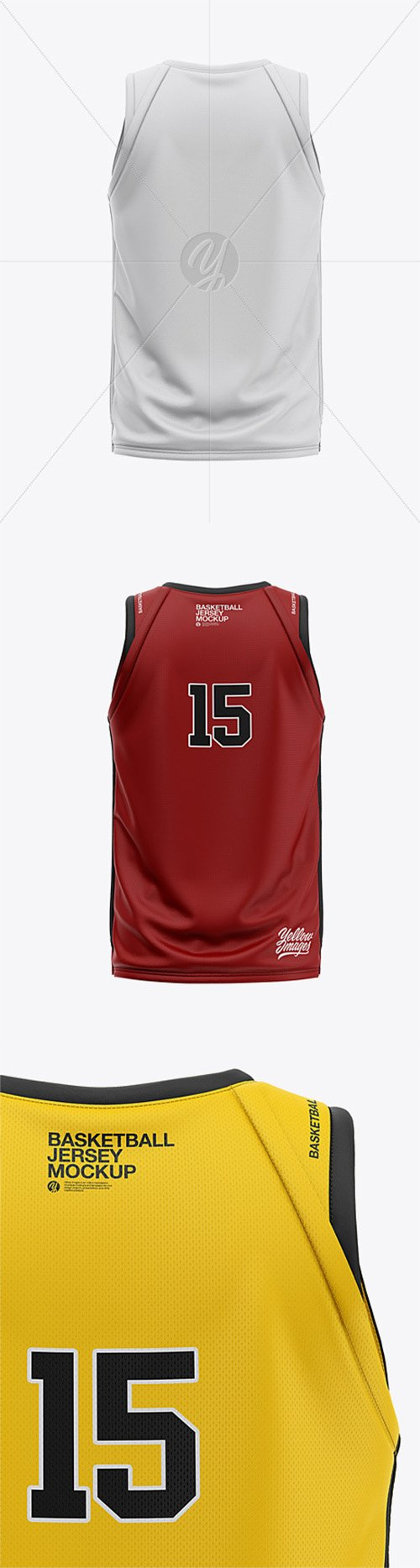 Download 13+ Basketball Jersey With V-Neck Mockup Front View ...