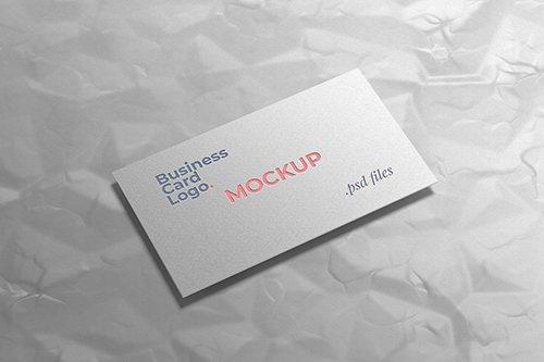 Business Card Logo Mockup