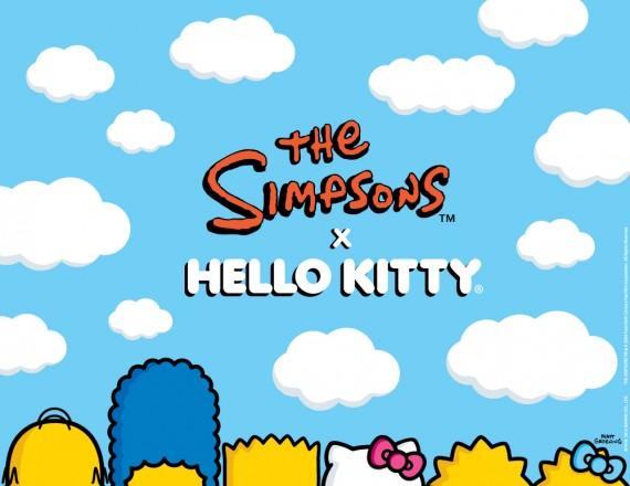 The Simpsons x Hello Kitty