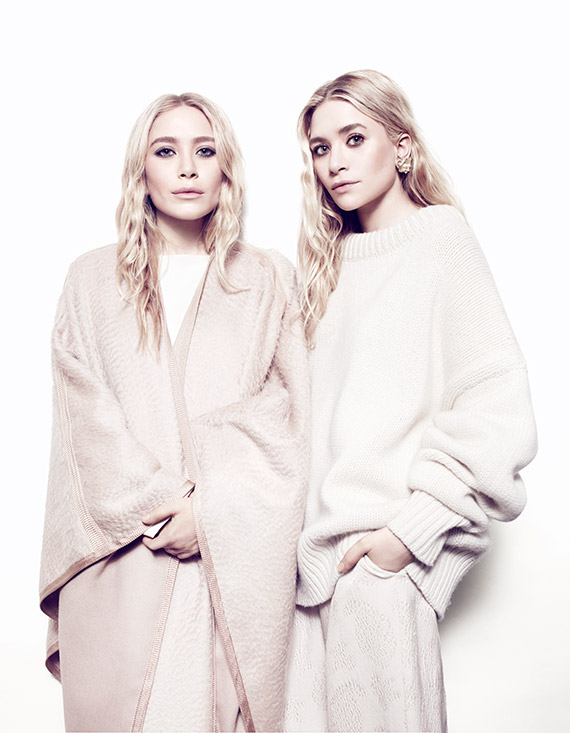 Ashley Olsen and Mary Kate Olsen Covers THE EDIT