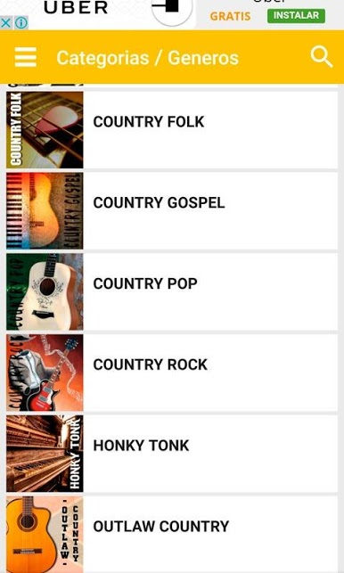 Country music apps - Country Music.