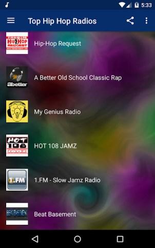 Hip hop apps - Top Hip Hop Radios.