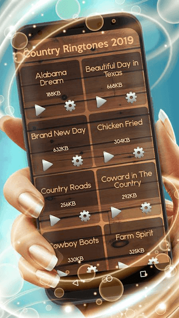 Country music apps - Country Ringtones 2019.