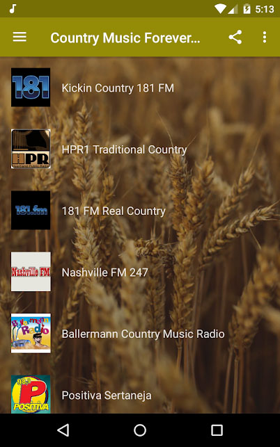 Country music apps - Country Music Radio