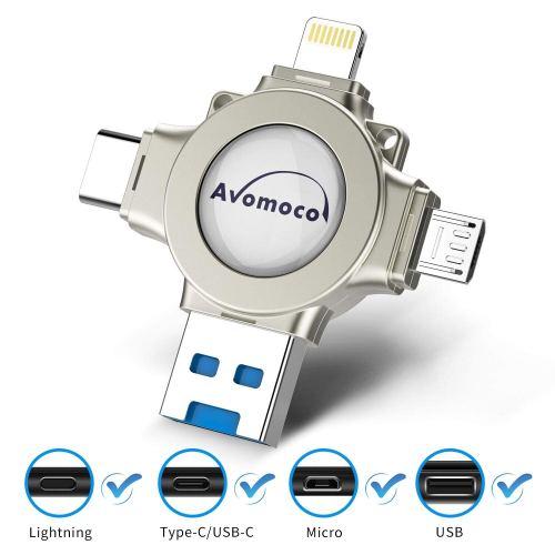 Top USB flash drives for 2019 - Avomoco 4 in 1