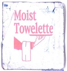 moist towelette album cover