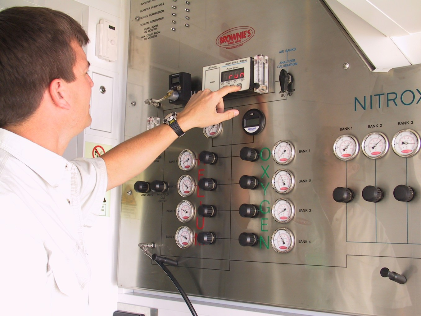 NitroxMaker™ Control Panel