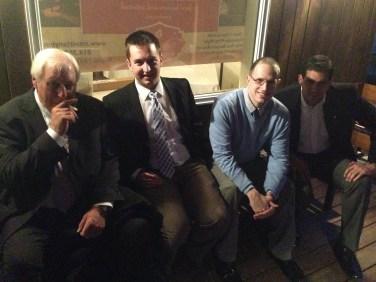 Left to right- Ben Novak, Kevin Horne, Chris Buchignani, and Anthony Christina.