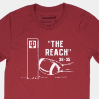 Company selling T-shirt memorializing Indiana win, calling it 'The Reach'