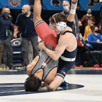 PSU wrestling: Lions have four in finals at Big Tens, in 2nd place behind Iowa in team race