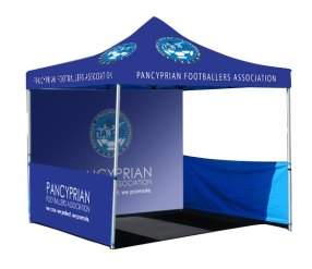 gazebo used for promotions