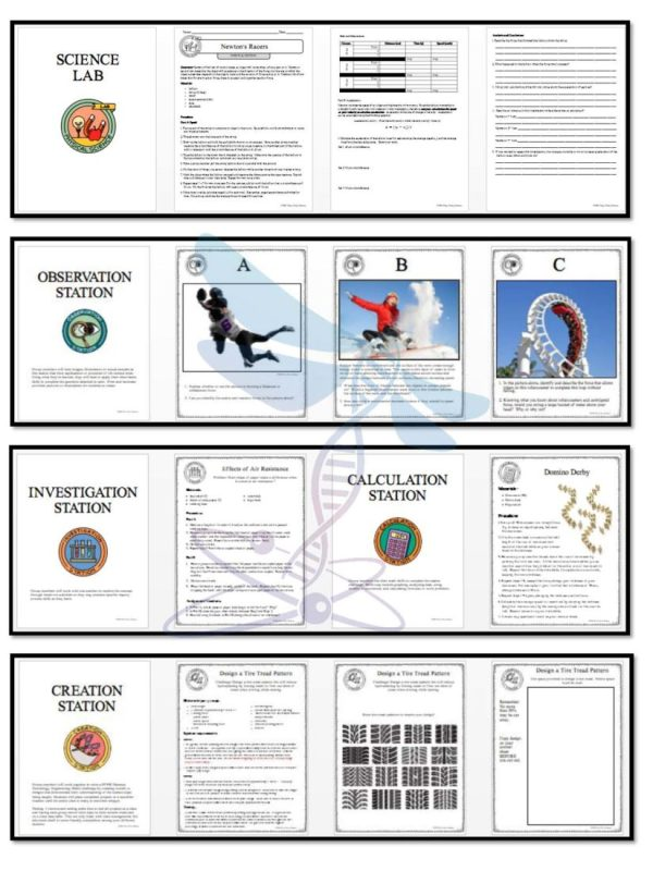 1470925303 demoPreviewForceandMotion Page 4 - FORCE AND MOTION - Demos, Lab and Science Stations