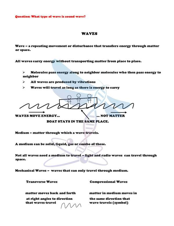 2411453 Page 4 - Waves & Electromagnetic Spectrum: Notes, PowerPoint & Test ~EDITABLE