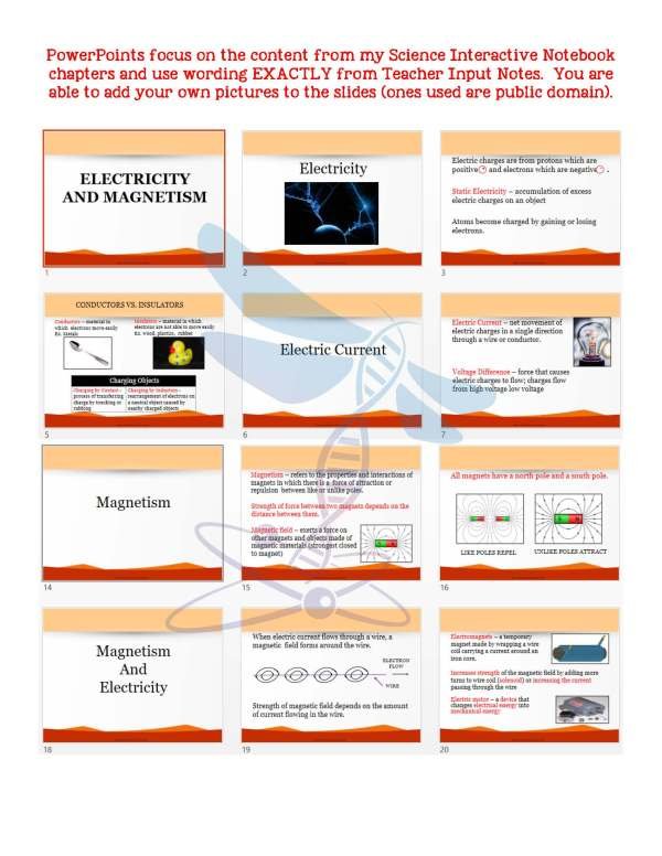 2411453 Page 5 - Waves & Electromagnetic Spectrum: Notes, PowerPoint & Test ~EDITABLE
