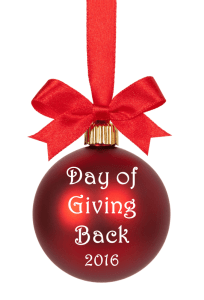 Day of Giving Back - Day of Giving Back 2016