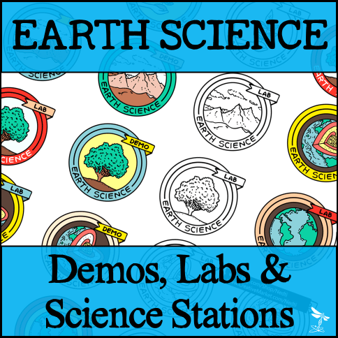 ES Demos Labs Stations Bundle - EARTH SCIENCE Demos, Labs & Science Stations BUNDLE