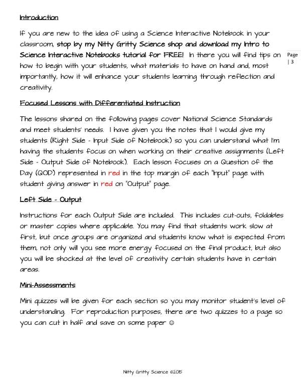 ES INB Earths Changing Surface Page 3 - Earth's Changing Surface