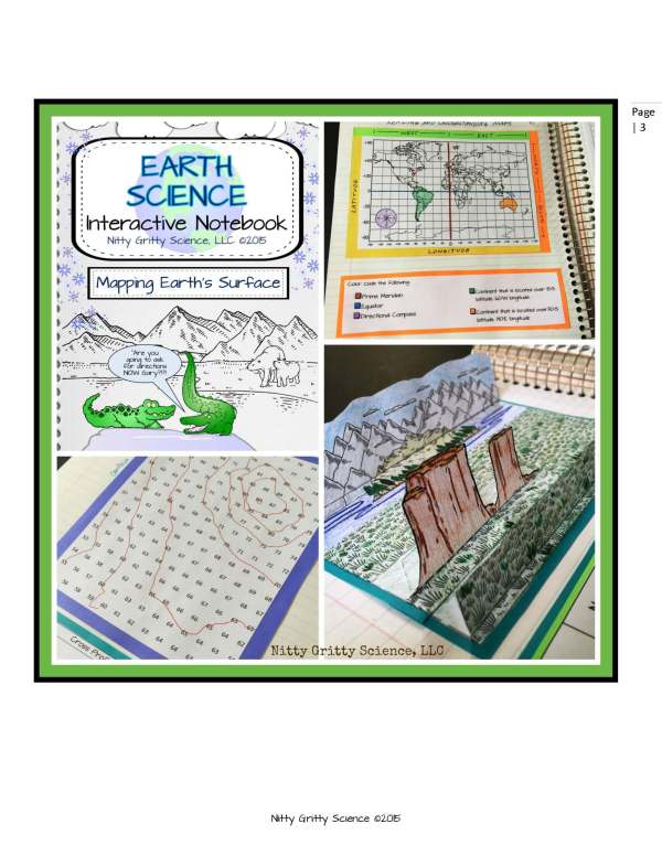 ES INB Mapping Earths Surface Page 3 - Mapping Earth's Surface