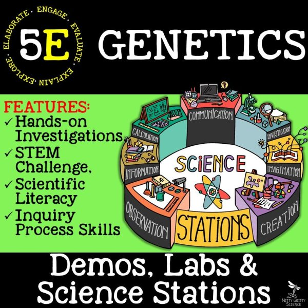 Genetics - GENETICS: THE SCIENCE OF HEREDITY - Demos, Labs and Science Stations