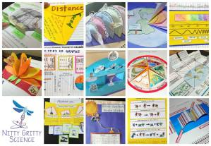 "INB collage 1 - Successfully putting the ""Interactive"" in Science Interactive Notebooks"