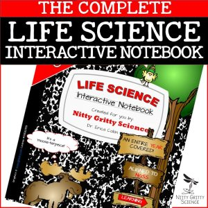 LS COMPLETE 1 - Life Science Interactive Notebook - The Complete Bundle for an Entire Year