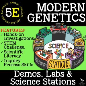 Modern Genetics - MODERN GENETICS - Demos, Labs and Science Stations