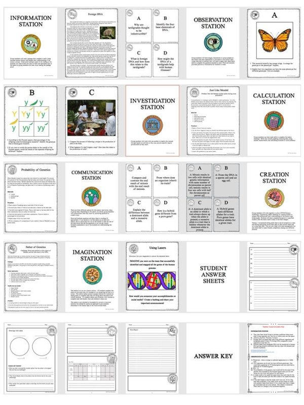 Slide3 2 - GENETICS: THE SCIENCE OF HEREDITY - Demos, Labs and Science Stations