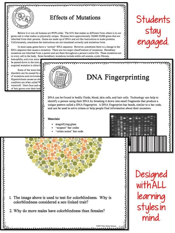 Slide4 1 2 - MODERN GENETICS - Demos, Labs and Science Stations