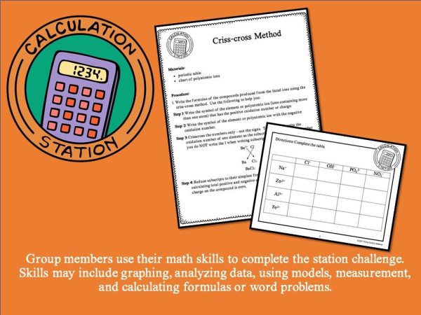 Slide9 3 - CHEMICAL BONDS AND EQUATIONS - Demos, Labs and Science Stations