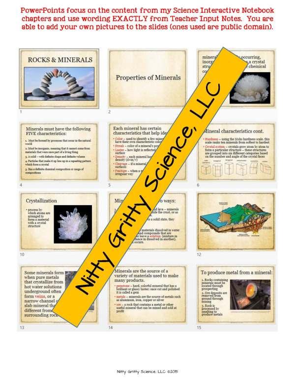 demoEarthSciencePowerPointsNotesChapterTestsBundleEDITABLE2199765.pdf Page 6 - Earth Science Curriculum: PowerPoints, Notes, Chapter Tests Bundle ~ EDITABLE