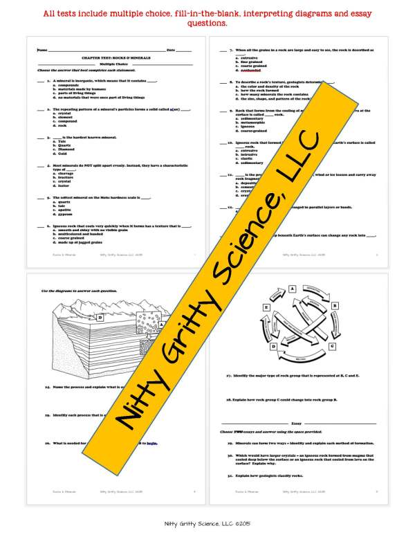demoEarthSciencePowerPointsNotesChapterTestsBundleEDITABLE2199765.pdf Page 7 - Earth Science Curriculum: PowerPoints, Notes, Chapter Tests Bundle ~ EDITABLE