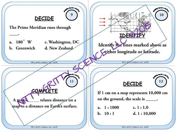 demoEarthScienceTaskCardBUNDLE2093572 1 Page 06 - Earth Science Task Card BUNDLE