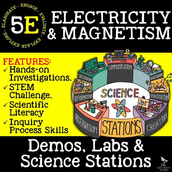 demoPreviewElectricityandMagnetism Page 01 - ELECTRICITY & MAGNETISM - Demos, Lab and Science Stations