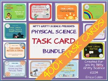 original 1240678 1 - Physical Science Task Card Bundle - 400+ task cards!