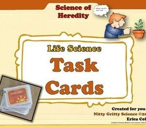 original 1498012 1 - Genetics: Science of Heredity - Life Science Task Cards