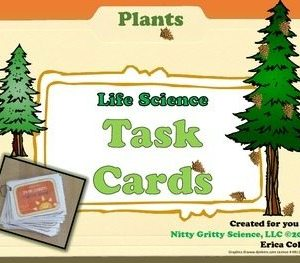 original 1687906 1 - Plants - Life Science Task Cards