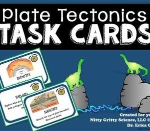 original 2121561 1 - Plate Tectonics: Earth Science Task Cards
