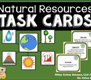 original 2236452 1 - Natural Resources: Earth Science Task Cards