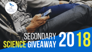 secondary science giveaway 1 - It's Back...The Annual Secondary Science Giveaway