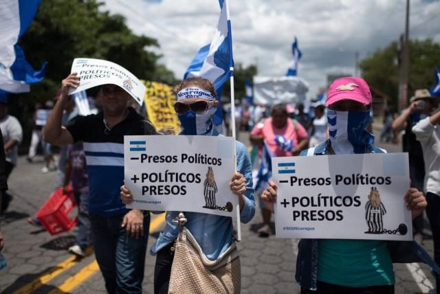 El régimen de Daniel Ortega sigue encarcelando a manifestantes.