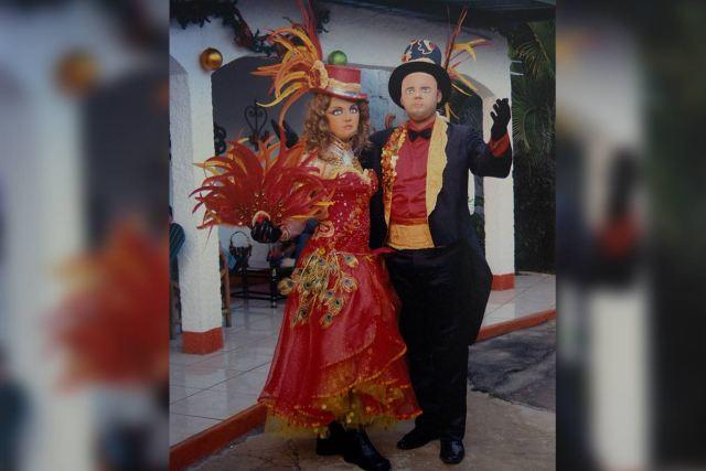 Una de las tradiciones de Yubrank Suazo es participar en los bailes de negras que se realizan durante la fiestas de San Jerónimo. Reproducción Carlos Herrea   Niú