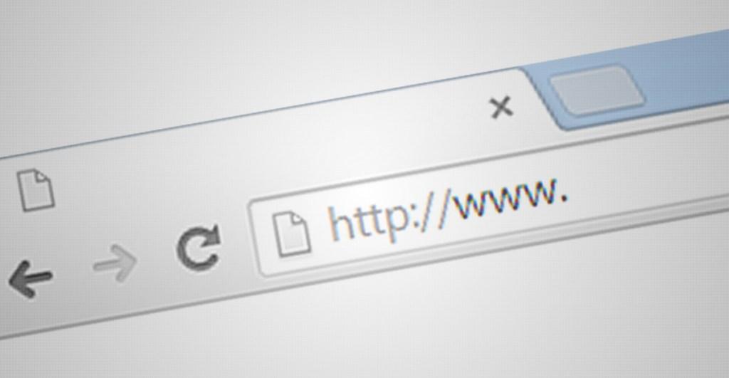 url mostrada en un navegador web, actualmente google amp no muestra la url original de las páginas web