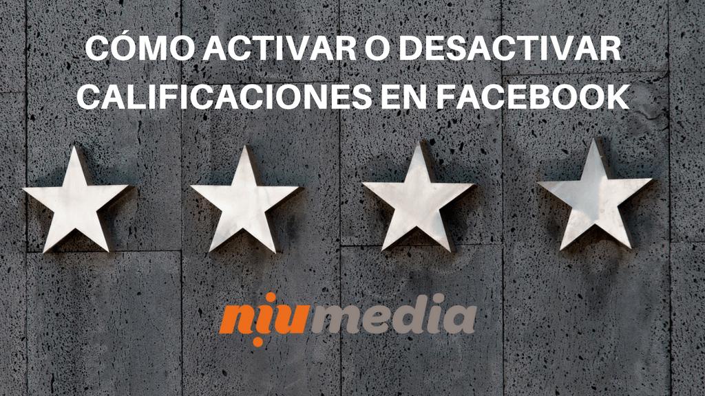 Cómo Activar o Desactivar Calificaciones en Facebook, Estrellas y Opiniones