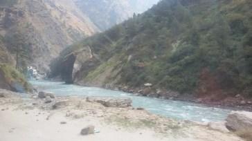 River Alaknanda, Joshimath - Badrinath