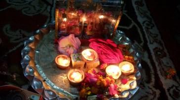 Our Diwali Pooja Thali