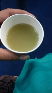 Hall 18-Aam Panna (Rs. 5 each), the only sample I had to pay for, all other food samples were for free