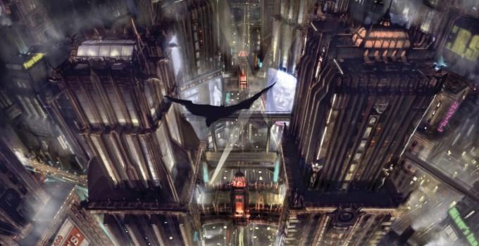Batman_Arkham_Knight_Over_the_City_Artwork