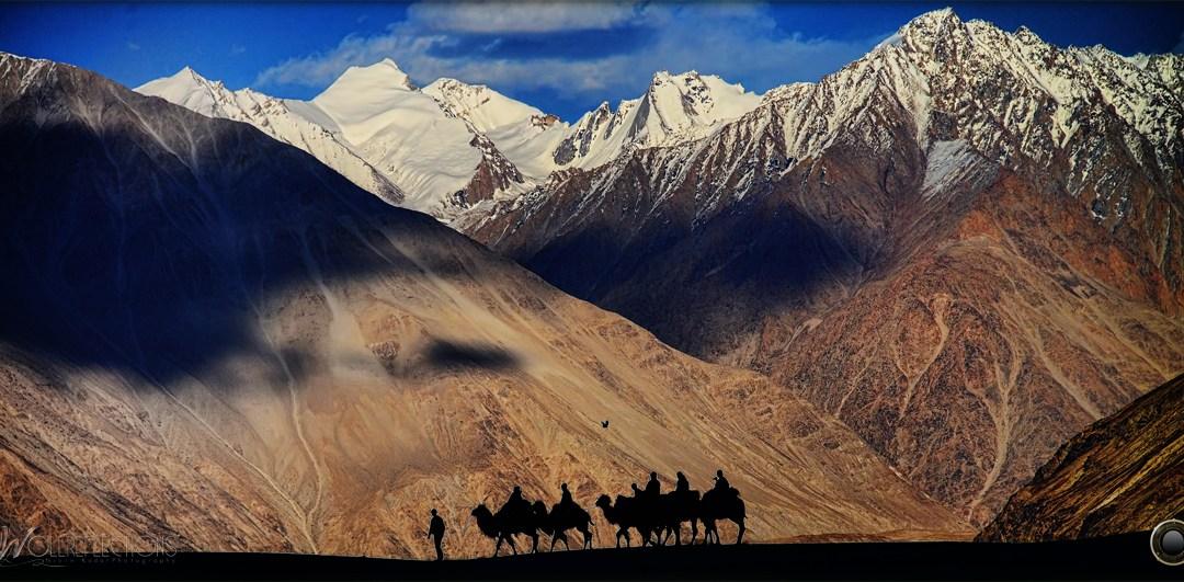 High altitude desert